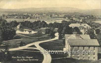 The Chapel - East Northfield, Massachusetts MA Postcard