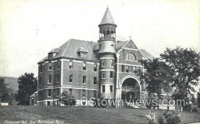 Marquand Hall - East Northfield, Massachusetts MA Postcard