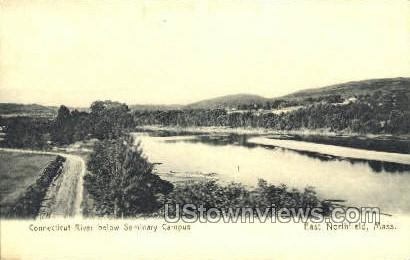 Seminary Campus - East Northfield, Massachusetts MA Postcard