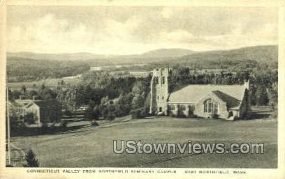 Connecticut Valley - East Northfield, Massachusetts MA Postcard