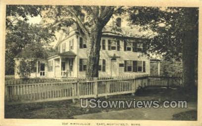 The Birthpalce - East Northfield, Massachusetts MA Postcard