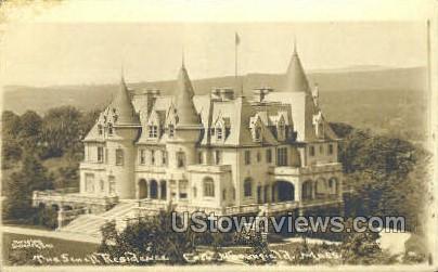 The Scnell Residence - East Northfield, Massachusetts MA Postcard