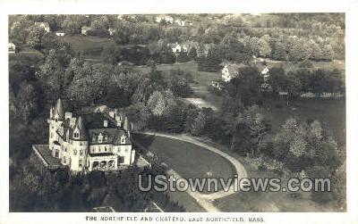 The Northfield & Chateau - East Northfield, Massachusetts MA Postcard