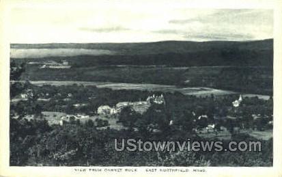 Garnet Rock - East Northfield, Massachusetts MA Postcard