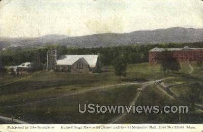 Gould Memorial Hall - East Northfield, Massachusetts MA Postcard