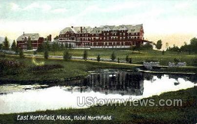 Hotel Northfield - East Northfield, Massachusetts MA Postcard
