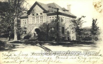 Dickinson Library - East Northfield, Massachusetts MA Postcard