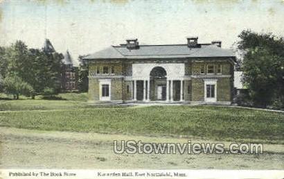 Kenarden Hall - East Northfield, Massachusetts MA Postcard