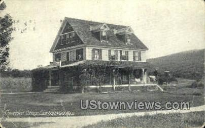 Connecticut Cottage - East Northfield, Massachusetts MA Postcard