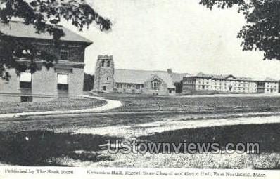 Gould Hall - East Northfield, Massachusetts MA Postcard