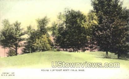 Round  - East Northfield, Massachusetts MA Postcard