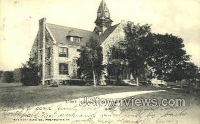 Stone Hall - East Northfield, Massachusetts MA Postcard