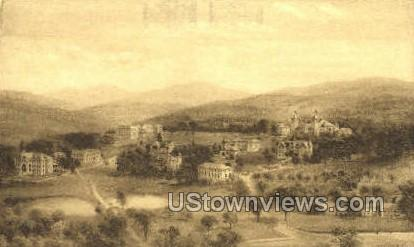 The Northfield Schools - East Northfield, Massachusetts MA Postcard