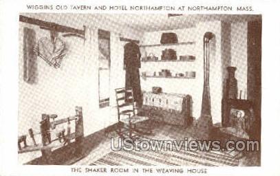 The Shaker Room,  - Northampton, Massachusetts MA Postcard