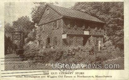 The Old Country Store - Northampton, Massachusetts MA Postcard