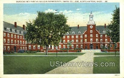 Wilson Dormitories - Northampton, Massachusetts MA Postcard