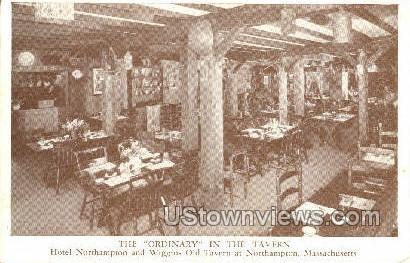 The Ordinary - Northampton, Massachusetts MA Postcard