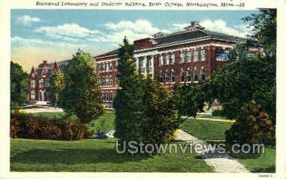 Biological Laboratory - Northampton, Massachusetts MA Postcard