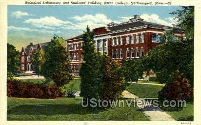 Students Building - Northampton, Massachusetts MA Postcard