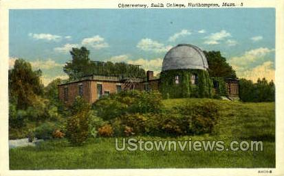 Observatory, Smith College - Northampton, Massachusetts MA Postcard