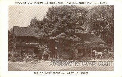 Weaving House - Northampton, Massachusetts MA Postcard