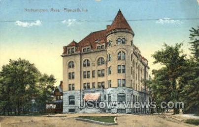Plymouth Inn - Northampton, Massachusetts MA Postcard
