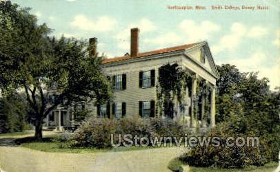 Dewey House, Smith College - Northampton, Massachusetts MA Postcard