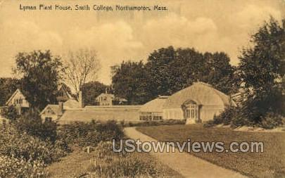 Lyman Plant House, Smith College - Northampton, Massachusetts MA Postcard