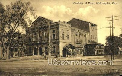 Academy of Music - Northampton, Massachusetts MA Postcard