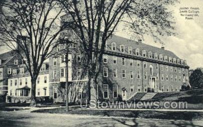 Jordan House, Smith College - Northampton, Massachusetts MA Postcard
