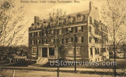 Baldwin House, Smith College - Northampton, Massachusetts MA Postcard