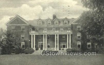 Chapin House, Smith College - Northampton, Massachusetts MA Postcard