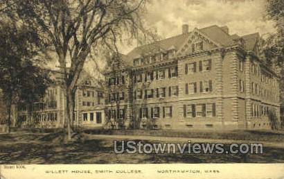 Gillett House, Smith College - Northampton, Massachusetts MA Postcard