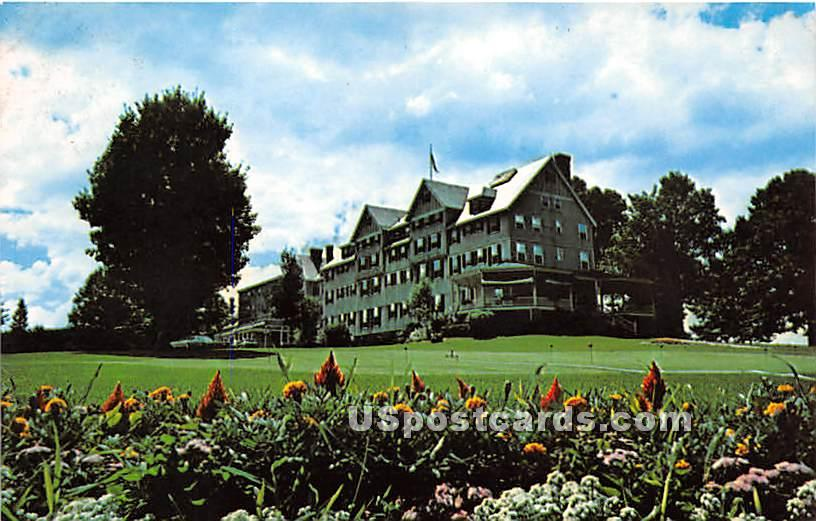 The Northfield Inn - Massachusetts MA Postcard