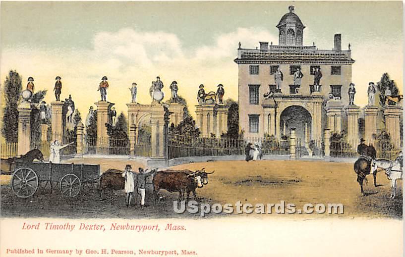 Lord Timothy Dexter - Newburyport, Massachusetts MA Postcard