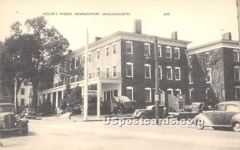 Wolfe's Tavern - Newburyport, Massachusetts MA Postcard
