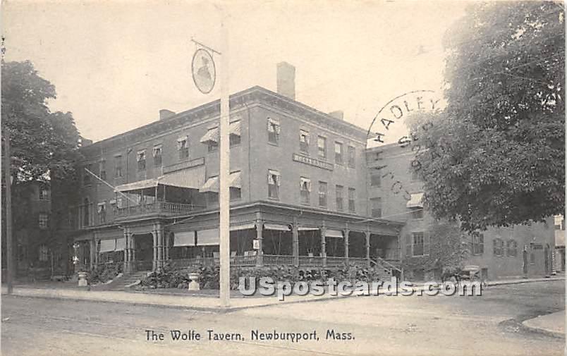 The Wolfe Tavern - Newburyport, Massachusetts MA Postcard