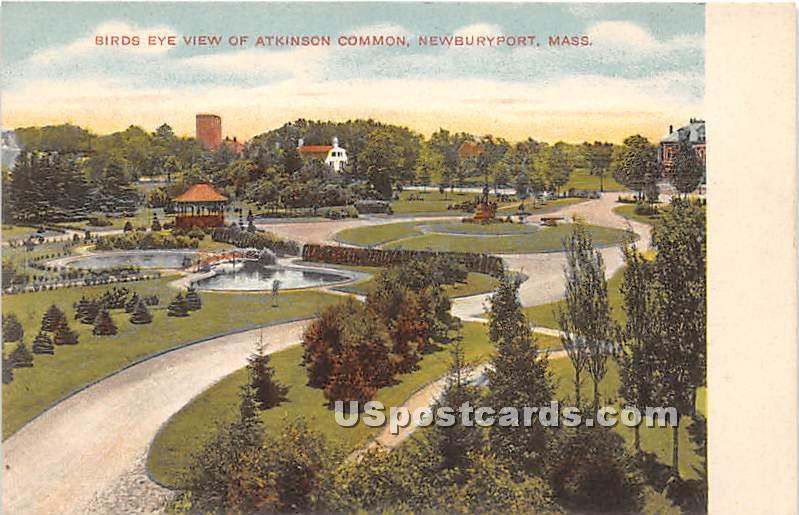 Atkinson Common - Newburyport, Massachusetts MA Postcard