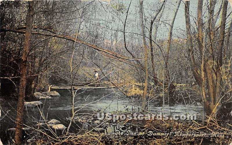 The Glen at Dummer - Newburyport, Massachusetts MA Postcard
