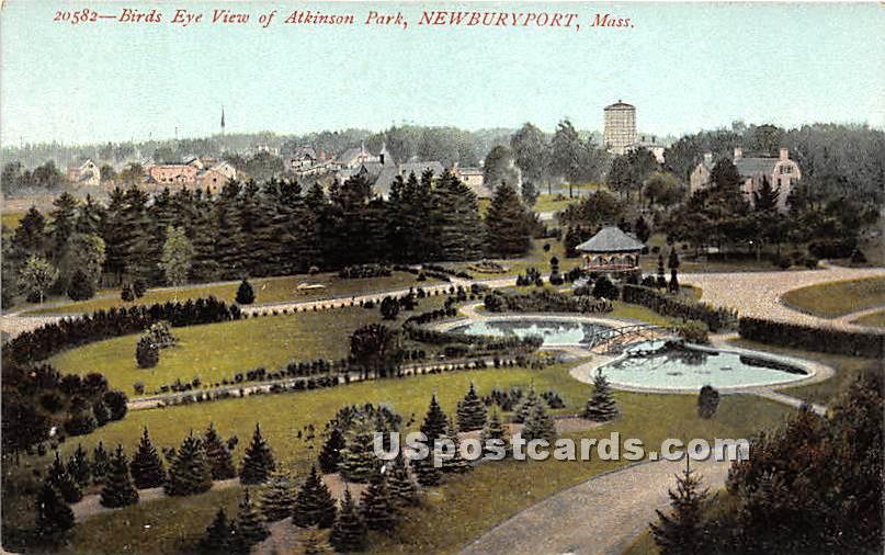 Atkinson Park - Newburyport, Massachusetts MA Postcard