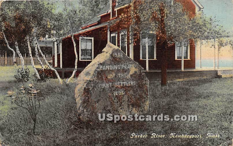 Parker River - Newburyport, Massachusetts MA Postcard