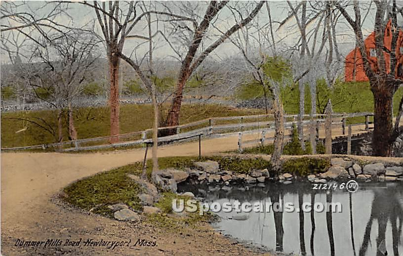 Dummer Mill - Newburyport, Massachusetts MA Postcard