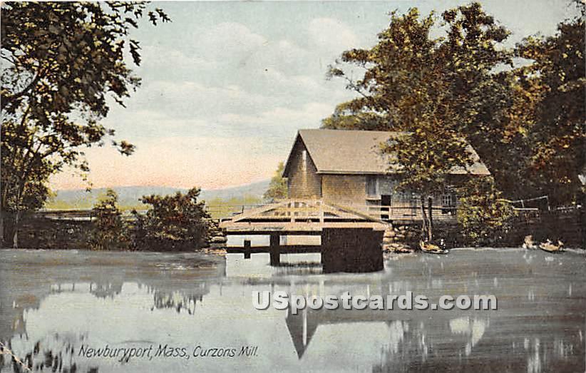 Curzon's Mill - Newburyport, Massachusetts MA Postcard