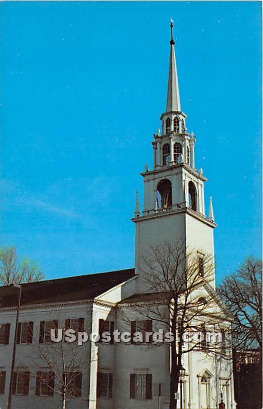 Unitarian Church 1801 - Newburyport, Massachusetts MA Postcard