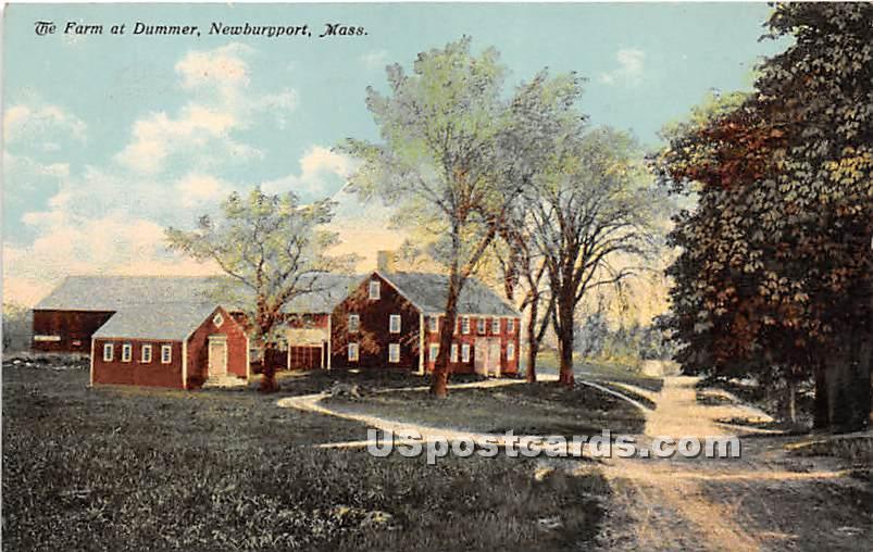 The Farm at Dummer - Newburyport, Massachusetts MA Postcard