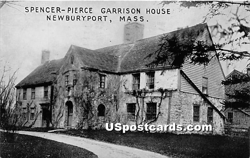 Spencer Pierce Garrison House - Newburyport, Massachusetts MA Postcard