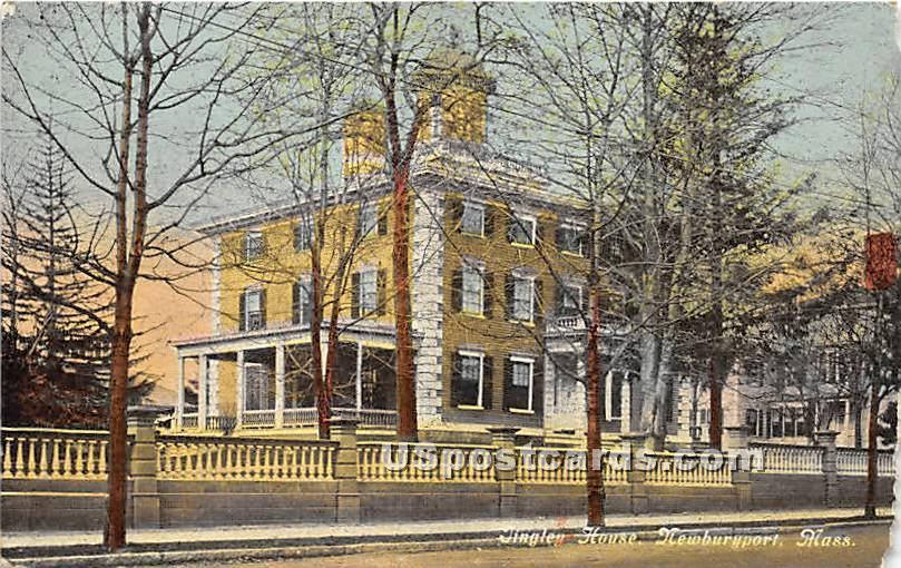 Tingley House - Newburyport, Massachusetts MA Postcard