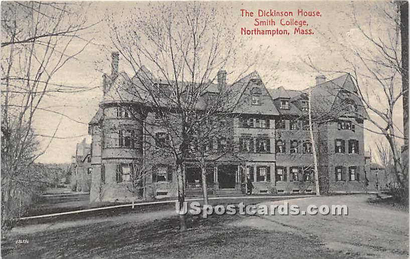 The Dickinson House at Smith College - Northampton, Massachusetts MA Postcard