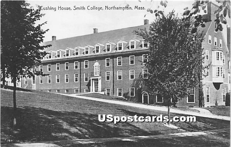 Cushing House at Smith College - Northampton, Massachusetts MA Postcard