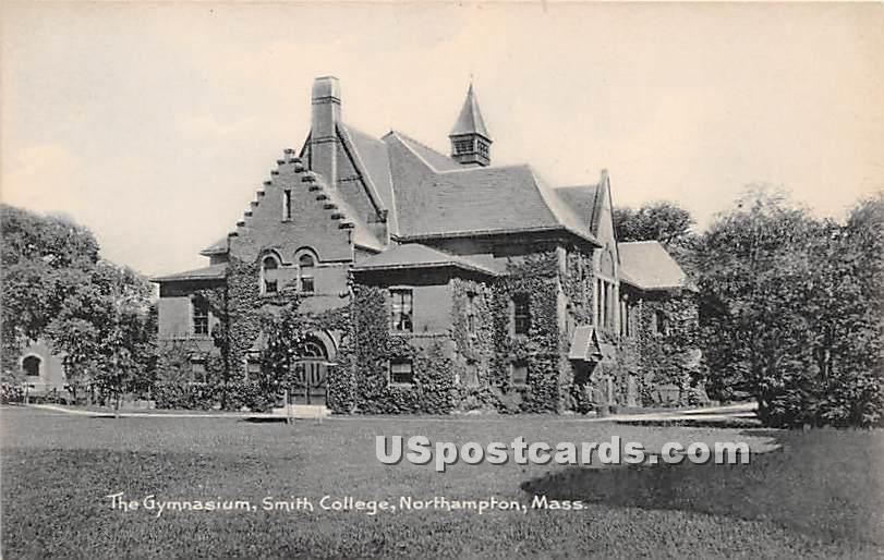 The Gymnasium at Smith College - Northampton, Massachusetts MA Postcard